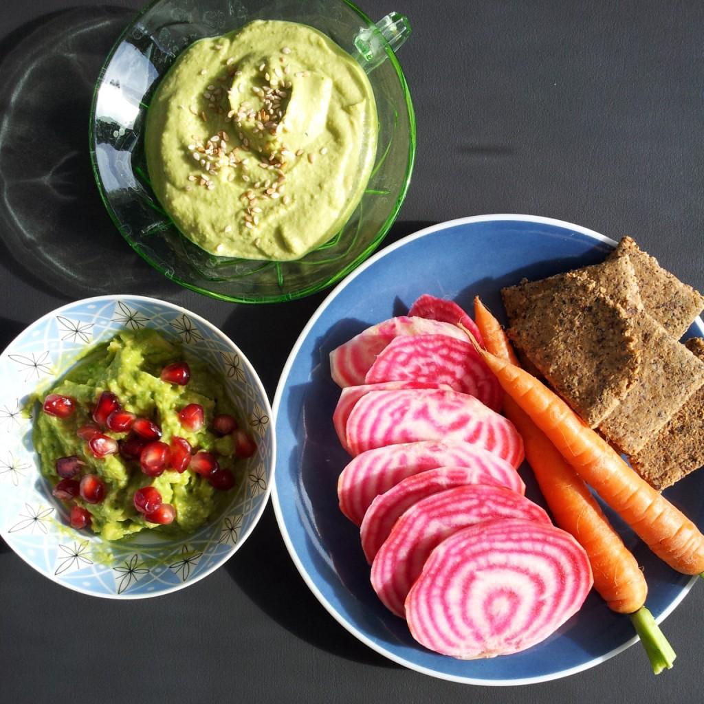 Grünkohl-Hummus
