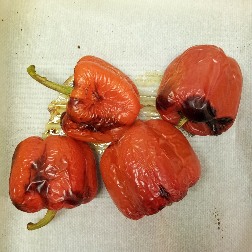 geröstete Peperoni