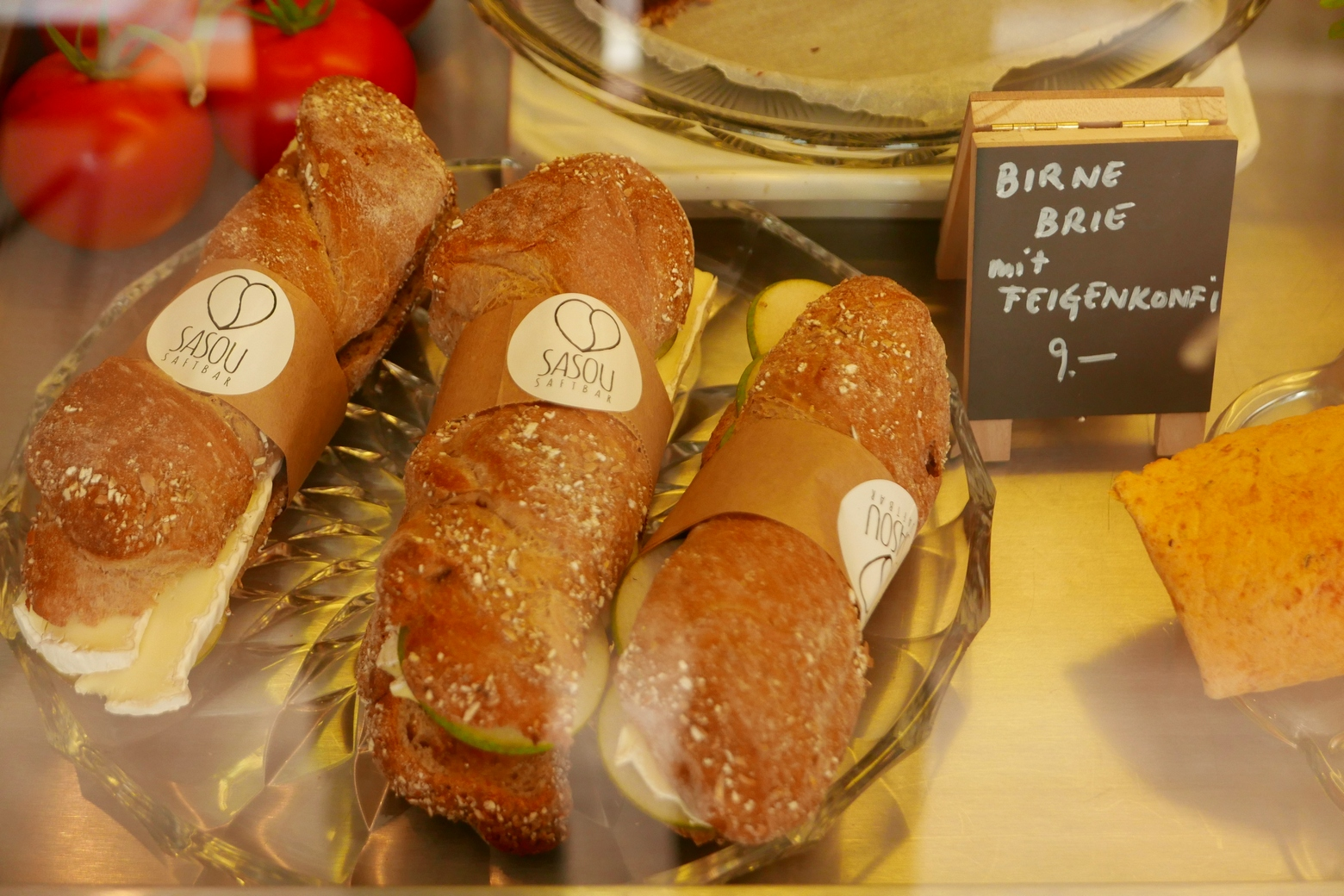 Brie Sandwiches