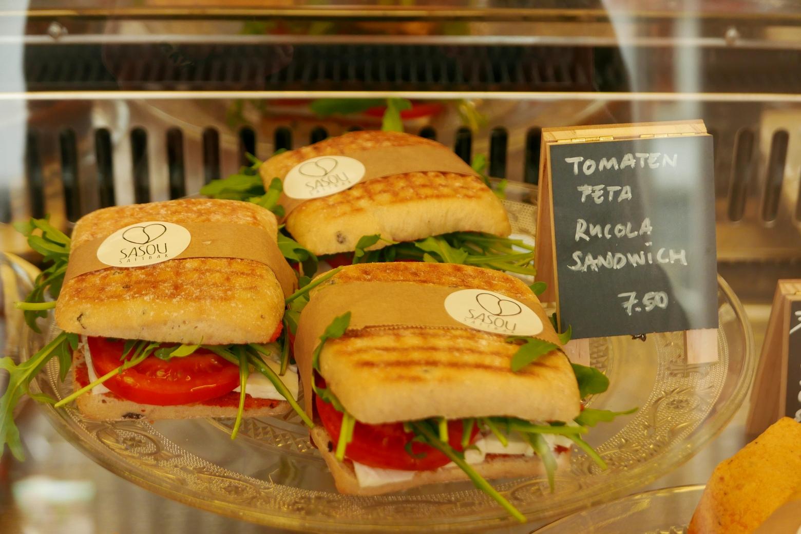 square Sandwiches