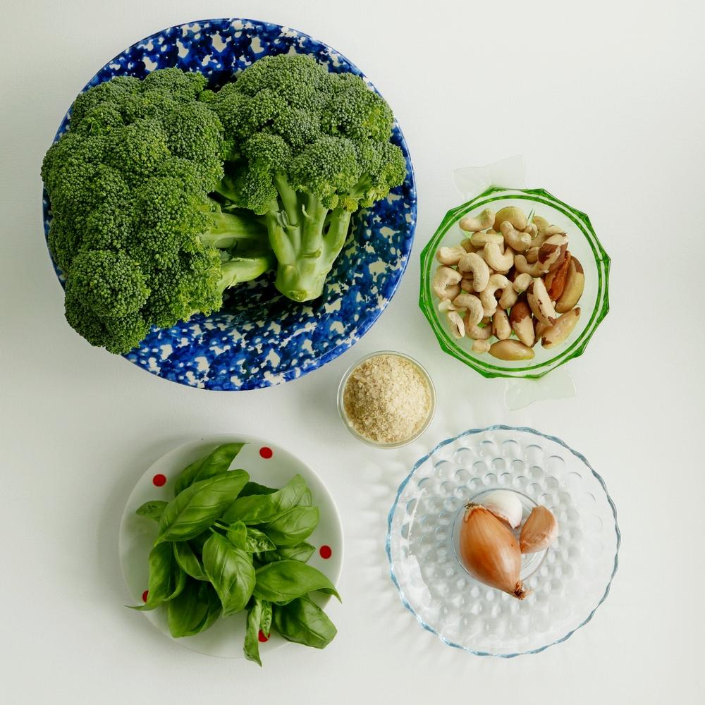 Broccoli Hummus Zutaten